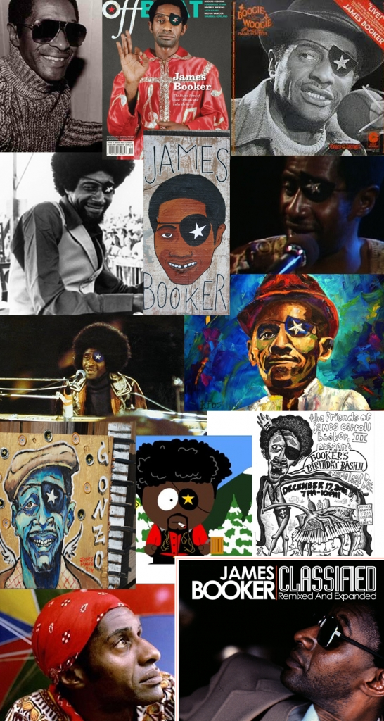 "The legendary James Booker ""Piano Prince of New Orleans"""